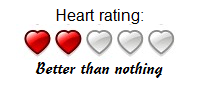 Heart better than nothing